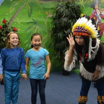 We've Seen Indians! — Yablonka-Kids Visit «Inca Empire», Kaliningrad
