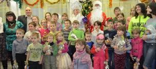 Новогодняя ёлка в Яблоньке