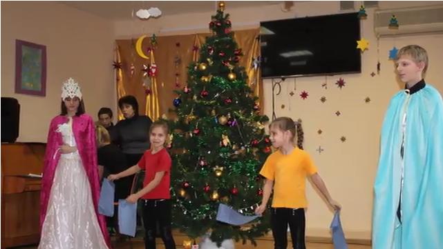 """Sozialzentrum """"Jablonka"""" behinderte Kinder besucht"""